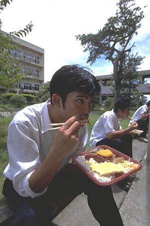 Фото. Японская кухня. Культура Японии. Этикет при еде палочками.