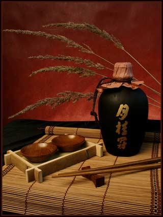 Фото. Японская кухня. Культура Японии. Домашнее сакэ.