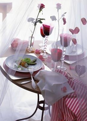 Приготовить романтический ужин дома
